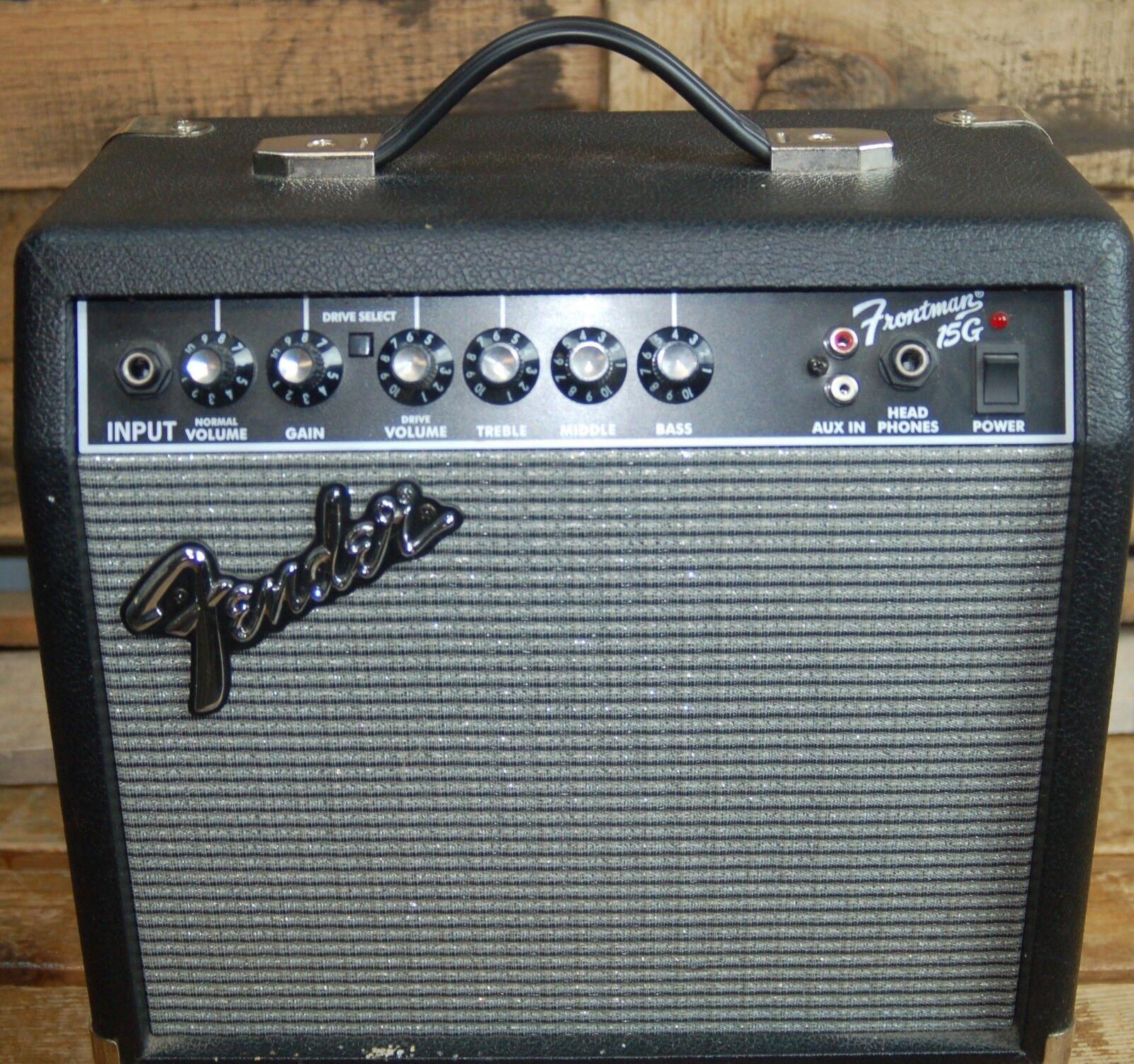 Fender Frontman 15G Combo Guitar 15W Amp Amplifier NEW