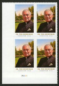 #5241 Padre Theodore Hesburgh, Placa Bloque [P11111 Ll ] Cualquier 5=