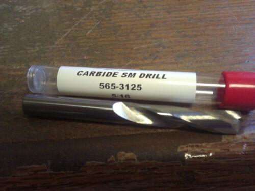 ".3125/"" 5//16/"" CARBIDE SCREW MACHINE LENGTH DRILL 135 DEGREE SPLIT POINT"