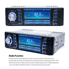 4.1'' Car Stereo Player Bluetooth CD USB MP3 Radio In Dash Receiver AUX Pandora
