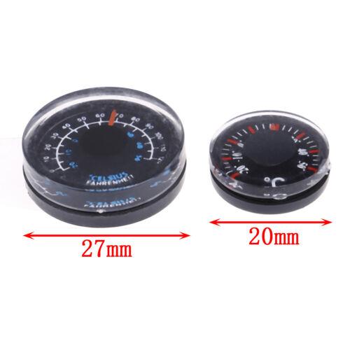 Diameter plastic thermometer circular thermograph fahrenheit indoor outdoor ODCA