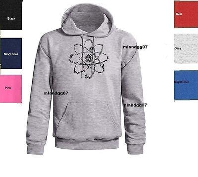 Geek or Nerd scientific Atom sweater Atomic science Hoody