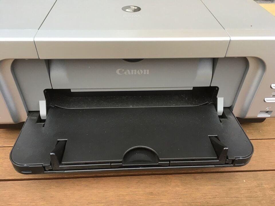 Blækprinter, m. farve, Canon.
