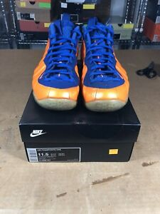 info for 2d33e bf5a8 Image is loading 100-Authentic-Nike-Air-Foamposite-One-Knicks-Size-