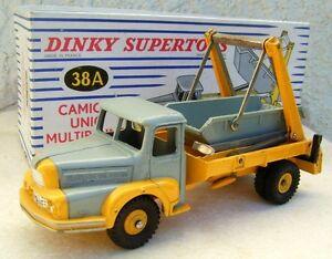 Unic Multibenne Marell Avec Boite D'origine Dinky Toys 1.43 Métal Ancien