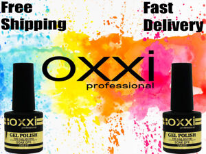 OXXI-Professional-UV-LED-Gel-Color-Coat-nail-polish-SOAK-OFF-8ml-BEST-PRICE