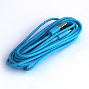long iphone 5 charger blue usb cable for iphone 6s 5s 5 5c 6 plus charger 6547