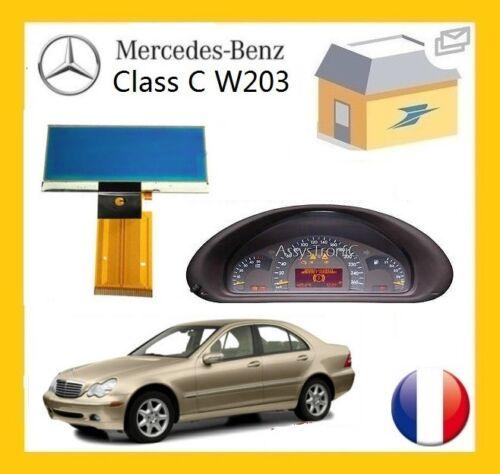 ECRAN LCD COMPTEUR ODB de MERCEDES W203 CLASSE C ENVOI RAPIDE B2