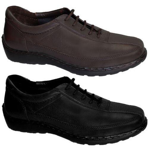 Damen Echtes Leder Schnürsenkel Vorne Bequem Damen Flache Schuhe