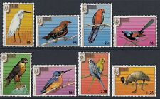 BIRDS :NIUE 1986 Stampex 86 Adelaide (Birds) set  SG628-35 never-hinged  mint