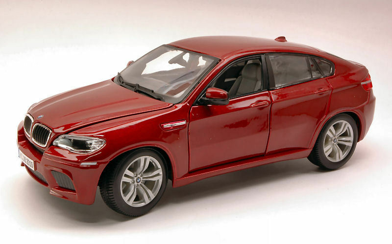 Bmw X6 M 2010 rouge 1 18 Model 12081R BBURAGO