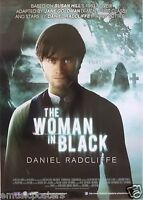 The Woman In Black Movie Poster From Malaysia - Daniel Radcliffe, Harry Potter