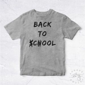 7753192d63a94 NEW Tee Shirt Back To Cool School BIO College University Education ...