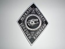 WATAIN FOREVER LAWLESS LEATHER EMBROIDERED PATCH