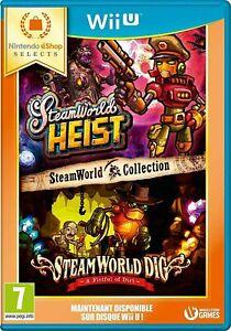 SteamWorld Collection Jeu Nintendo Wii U Neuf sous blister PAL FR