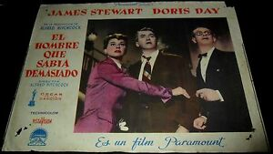 1956-The-Man-Who-Knew-Too-Much-ORIGINAL-SPAIN-LOBBY-CARD-Alfred-Hitchcock-a