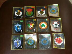 Panini-WM-90-Italien-World-Cup-Wappen-1x-frei-auswaehlen