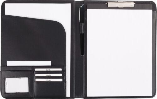 Stift von FIHA-Promotion Schreibmappe A4 mit herausnehmbarem Klemmbrett incl