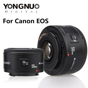 Yongnuo YN 50mm F1.8 EF Large Aperture Auto Focus Prime Lens For Canon EOS DSLR