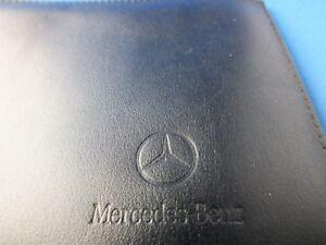 Original-von-Mercedes-Partner-Leder-Etui-Fahrzeug-Fuehrerschein-FZG-Schein-Tasche