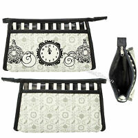 Disney Cinderella Live Action Film Cosmetic Make-up Bag Clutch Purse Hot Topic