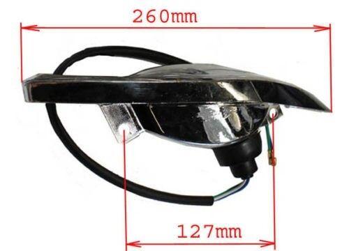 Diamond Shape ATV Head Light for 50cc 70cc 90cc 110cc 125cc
