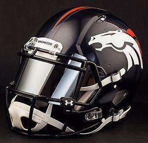 CUSTOM-DENVER-BRONCOS-Full-Size-NFL-Riddell-SPEED-Football-Helmet