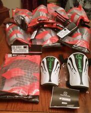 Lotto Italian Sport Design Shin Guard W// Carrying Bag Small Green Black Soccer