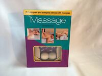 Massage Kit Joanna Trevelyan Book & Cd & Massage Roller Health Fitness Sealed
