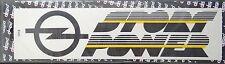 Aufkleber OPEL SPORT POWER Logo Blitz Motorsport Kadett Astra Corsa Vectra GSi