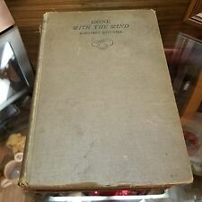 1936 June Printing Gone With The Wind Margaret Mitchell. No Dust Jacket