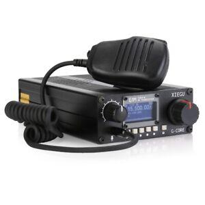 Amateur Radio Xiegu G1m Sdr Ssb Cw 0 5 30mhz Moblie Radio Hf Transceiver Ham Qrp Ebay