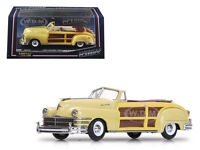 1947 Chrysler Town And Country Yellow Lustre 1/43 Diecast Model By Vitesse 36222