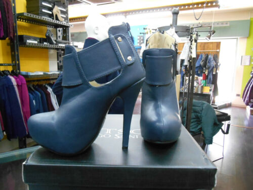 Class Hauts Sc221 Tsc Boots Bottine Bleu Talons Casual Chaussures Bottines Femme dwRZn8Rf