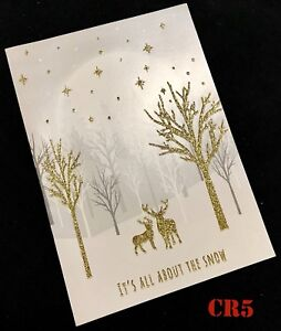 image is loading sparkling white gold glitter merry christmas card wallet