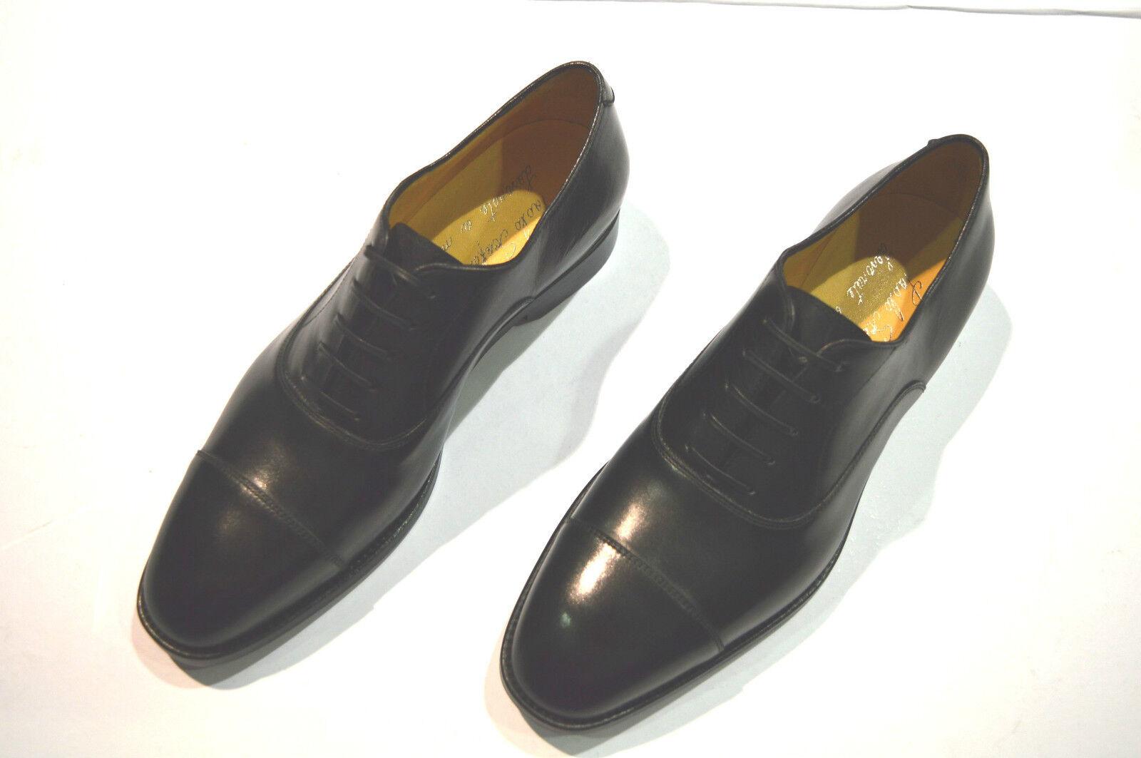 nuovo  PAOLO SCAFORA  Dress Leather  sautope Dimensione Eu 45 Uk 11 Us 12 (Cod 2) Sautope classeiche da uomo