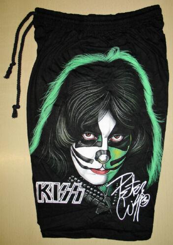 Kiss Peter Criss 1978 Solo Album Cotton Shorts Sweatpants Free Size Rock Band