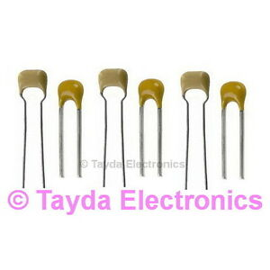 5 X 1uf 50v Multilayer Ceramic Capacitor Free Shipping