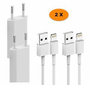 2x-D-039-origine-Lightning-Chargeur-Pour-iPhone-6-6-S-7-8-X-XS-XR-XS-MAX-PLUS-Bloc-d-039