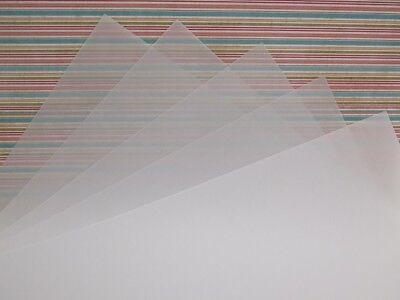 15 x A4 Pergament lichtdurchlässig schweres Pauspapier Papier 150gsm
