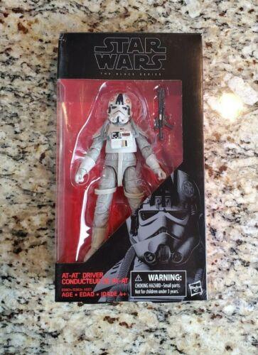 """AT-AT Driver 6/"""" nero della serie Star Wars Nuovo di zecca con scatola #31 Hasbro NUOVO Nuovo di zecca con scatola #2"""