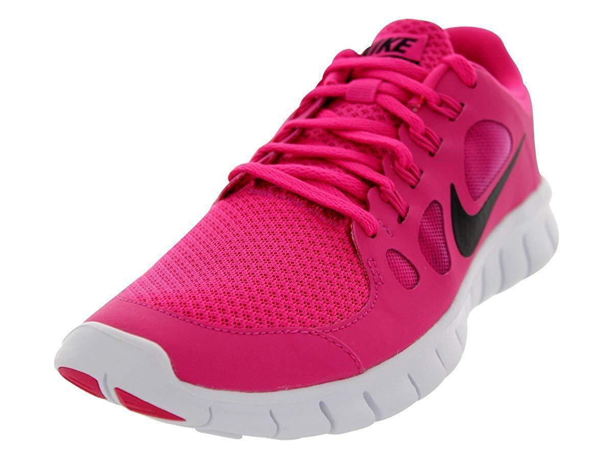 Para Mujer Nike Free ejecuta ejecuta ejecuta 5.0 rosado Negro Entrenadores 580565-602  compra en línea hoy