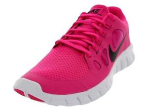 sports shoes 20633 546ee WOMEN'S NIKE FREE RUNS 5.0 PINK BLACK TRAINERS 580565-602 | eBay