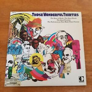 Those-Wonderful-Thirties-The-Stars-of-Radio-LP-039-s-2-LP-039-s