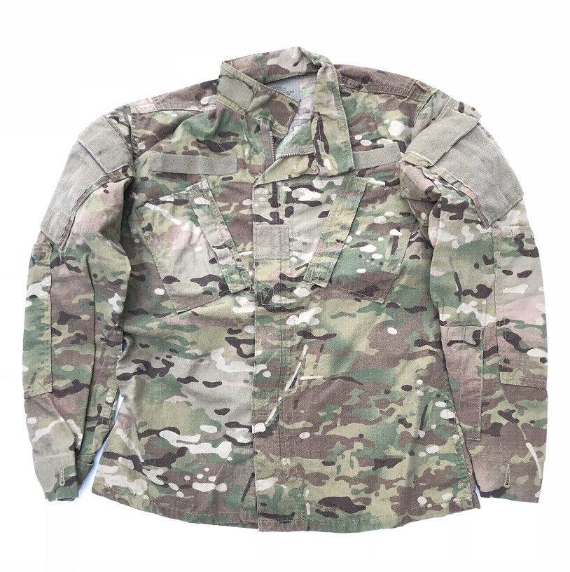 US Army Multicam FR ACU Combat Uniform ACU FR Mimetico Coat Giacca MR MEDIUM REGULAR a7c95d