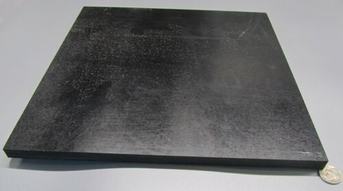 "Color Black ABS Sheet Smooth on Both Sides 1//2/"" .500/"" x 12/"" x 12/"""