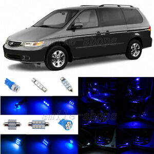 Image Is Loading 9pcs Ultra Blue Led Interior Lights Package Fit