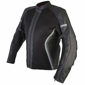 Spada-Ladies-Leather-and-Textile-MOTORCYCLE-JACKET-Nimbus-Mesh-Black