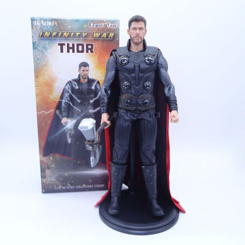 Empire Toys 1//6 Avengers 3 Thor With Axe Collectible Figure Model Statue 12 Inch