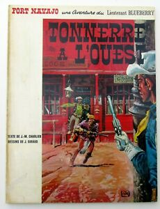 BLUEBERRY-TONNERRE-A-L-039-OUEST-CHARLIER-GIRAUD-EO-BELGE-BROCHEE-1966-TBE